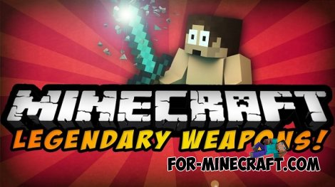 Legendary Weapons (LW) v2.0 for MCPE 0.10.5