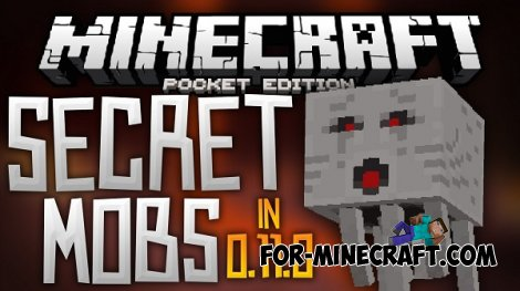 Secret Mobs in MCPE 0.11.0