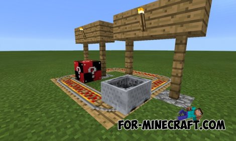 how to get lucky blocks in minecraft pe