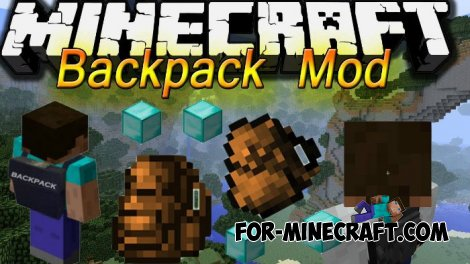 Backpack mod for Minecraft 1.7.10
