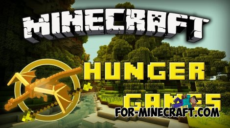 Hunger Games map for Minecraft Pocket Edition 0.11.0
