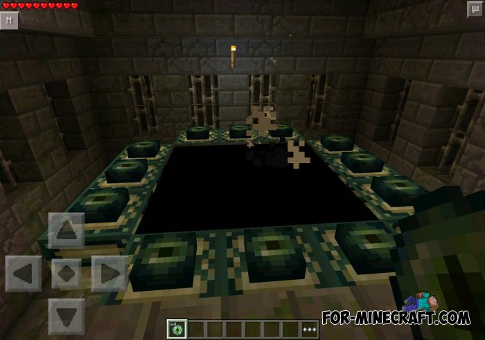 how to get eye of ender in minecraft pe
