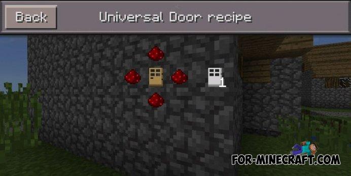 Hidden Doors Mod For Minecraft Pe 0 10 5