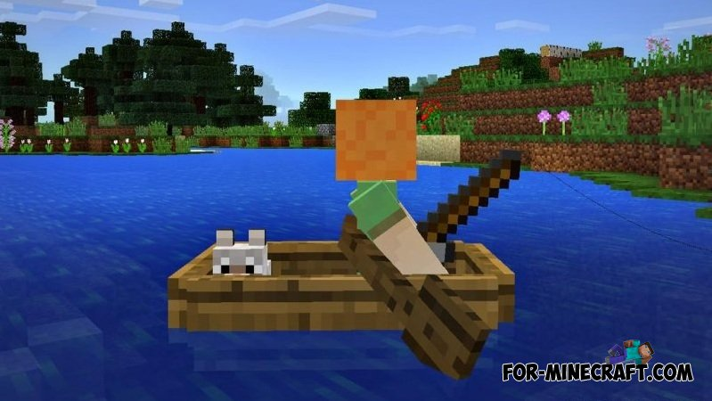 Fishing and wolves in minecraft pe build 14 for How to fish in minecraft pe