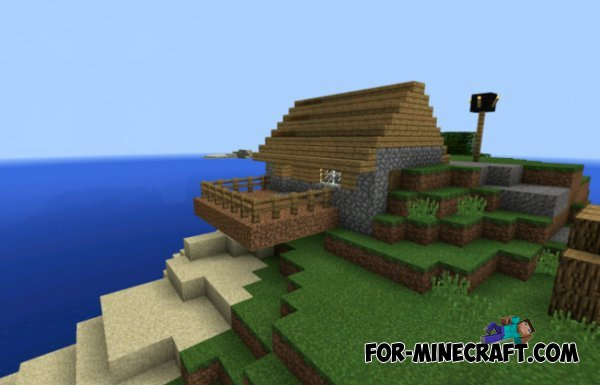 how to find a village in minecraft pe flat