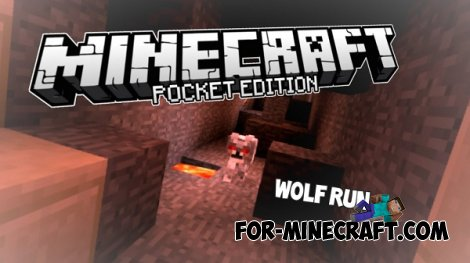 Wolf Run map for Minecraft Pocket Edition 0.10.5 / 0.11.0