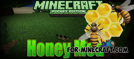 Honey Mod for Minecraft PE 0.10.5