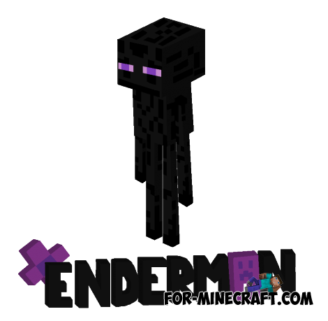 Enderman skin pack for Minecraft Pocket Edition