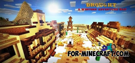 Drought map for Minecraft PE 0.10.5 / 0.11.0