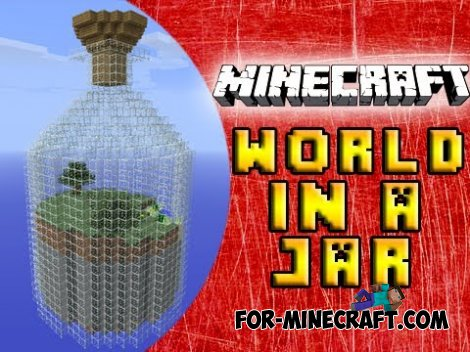 World in a Jar: PE original edition for MCPE 0.11.0