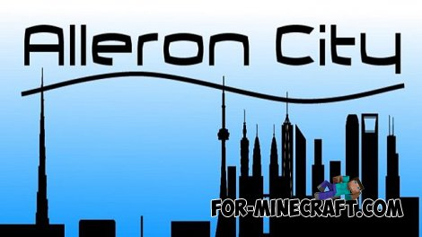 Alleron City map for Minecraft 1.8
