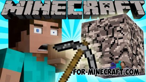 Bedrock Tools mod for Minecraft 1.8
