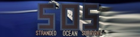 SOS: Stranded Ocean map for MCPE 0.11.0