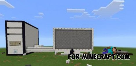iMac map in Minecraft PE 0.11.0
