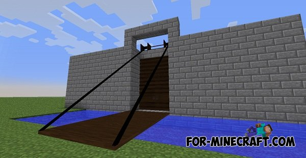 & Tall Doors mod for Minecraft 1.7.10 / 1.7.2