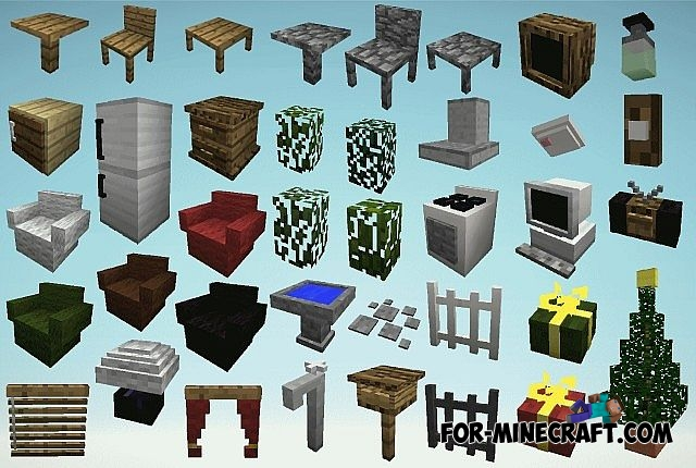 how to make a table in minecraft furniture mod