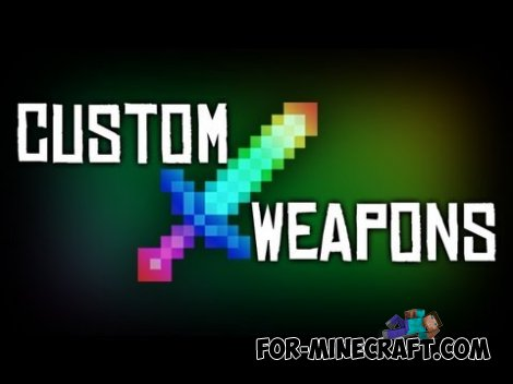 Custom Sword mod v0.10 for Minecraft 1.7.10