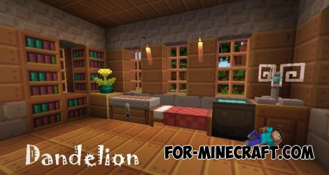 Dandelion Texture for MCPE 0.11.x