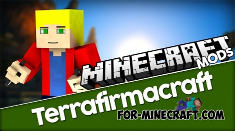 TerraFirmaCraft mod for Minecraft 1.7.10 / 1.6.4
