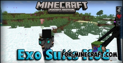 Exo Suits Mod for Minecraft PE 0.11.X