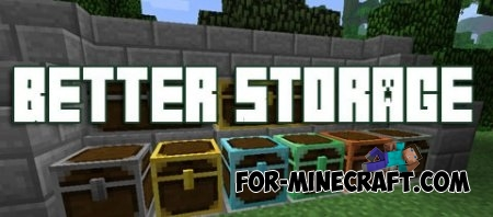 Better Storage mod for MCPE 0.11.X