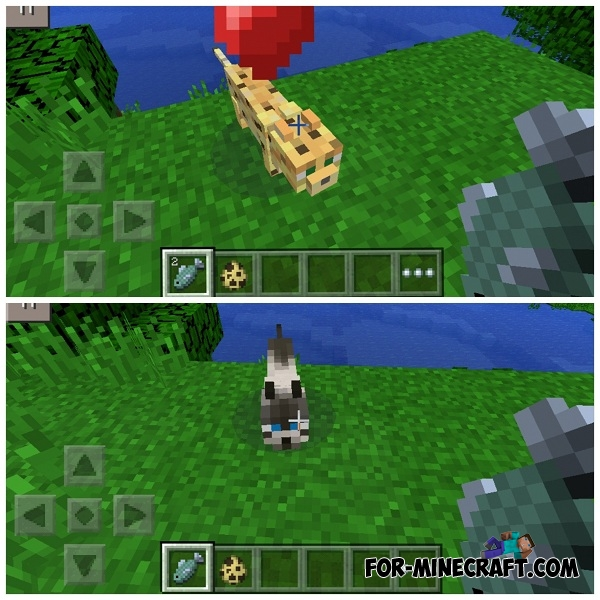 Ocelots mod for minecraft pe for How to fish in minecraft pe