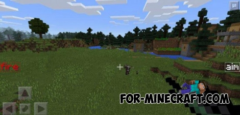 DesnoGun r025 mod for Minecraft PE 1.2