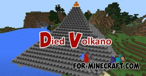 Died Volkano map for MCPE 0.11.1 / 0.11.0