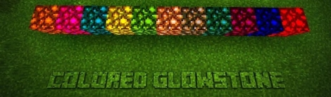 Colored Glowstone mod for Minecraft PE 0.11.1 / 0.11.0