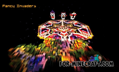 Fancy Invaders map for Minecraft PE 0.11.X