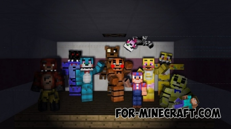 FNAF 4 map for Minecraft PE 0.11.1 / 0.11.0