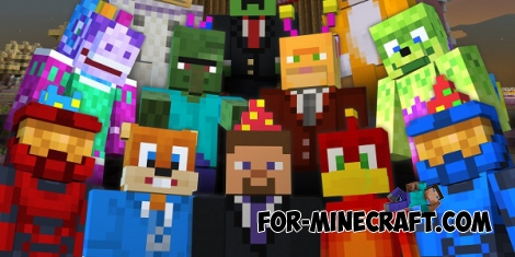 Xbox skin pack for Minecraft PE 0.11.1 / 0.11.0