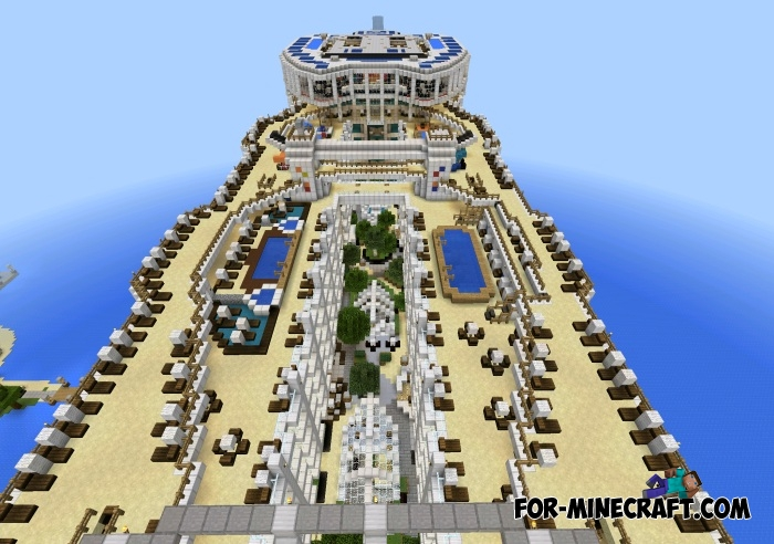 Oasis Of The Seas Map For Minecraft Pe 0 12 1