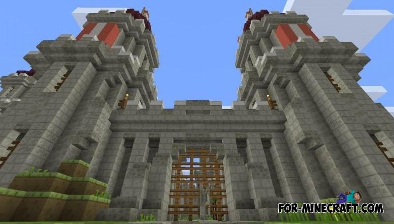 Darkthorn Castle Map For MCPE - Die besten maps fur minecraft pe