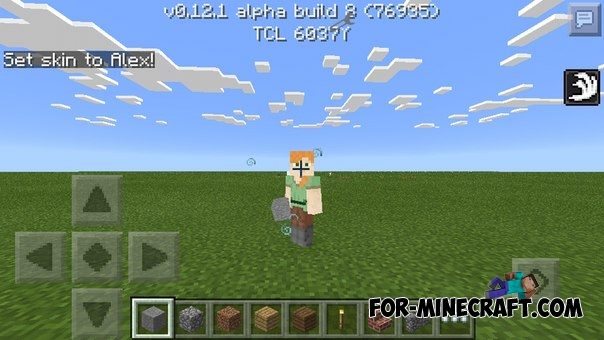 ActivateCommands addon for MinecraftPE 0.12.1/0.13.0 on
