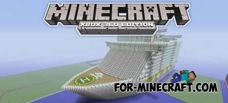 Oasis of the Seas map for Minecraft PE 0.12.1