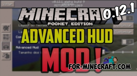 Advanced Hud for Minecraft PE 0.12.1