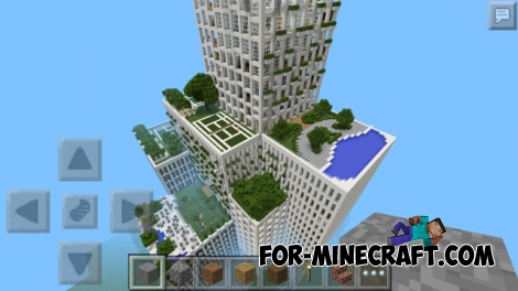 Super Hotel map for MCPE 0.12.1
