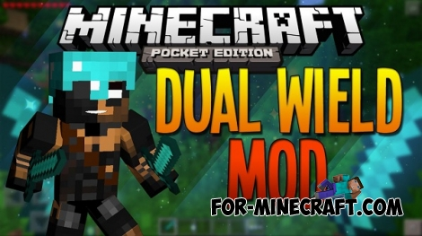 Two hands addon for MCPE 0.12.0 / 0.12.1 / 0.13.1