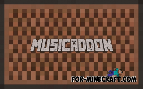 Music addon r003 for Minecraft PE 0.12.1