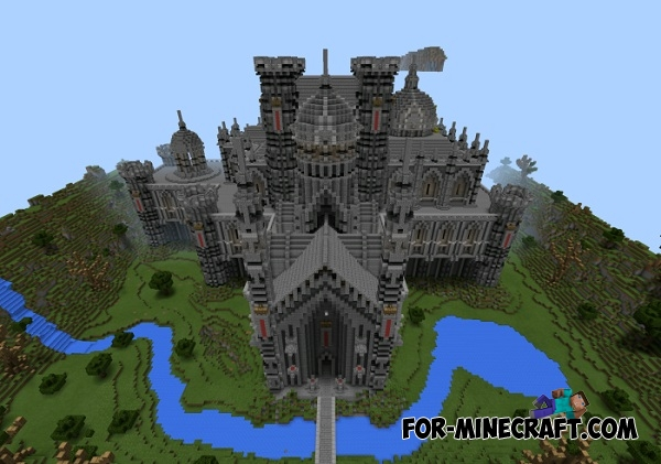 Gothic Castle Map For Minecraft PE 0121