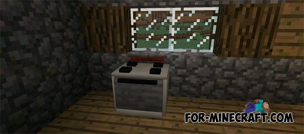 Electrics Furniture Mod For Minecraft Pocket Edition 0 12 1