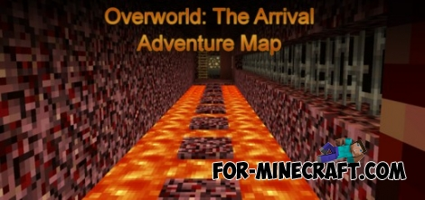 Overworld: The Arrial map for MCPE 0.12.1