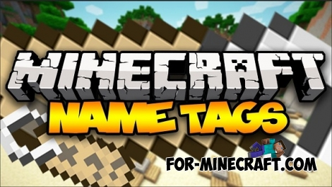 Name Tag mod for Minecraft Pocket Edition 0.12.1