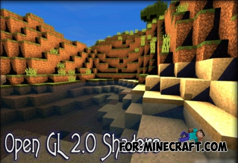Open GL 2.0 shaders for Minecraft PE 0.12.1