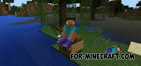 Super Stair Sitter mod for Minecraft PE 0.12.1
