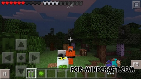 Rubber Suit Addon 1.6 for MCPE 0.12.1/0.12.2/0.12.3