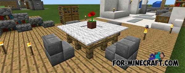 Furniture Ideas map for Minecraft PE 0.12.1