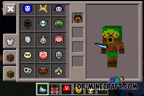 Majoras Mask Zelda Mask Mod For Minecraft PE X - Skins para minecraft zelda