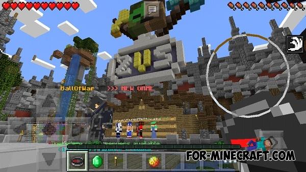 Minecraft Spielen Deutsch Minecraft Spiele Lobby Bild - Minecraft spiele server